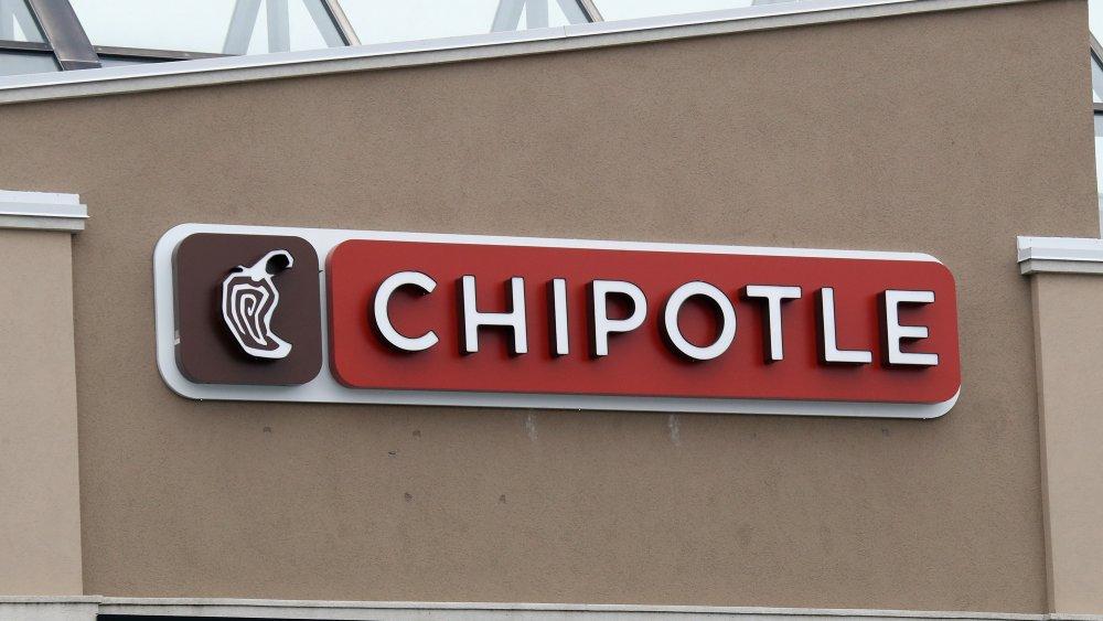 Chipotle signage