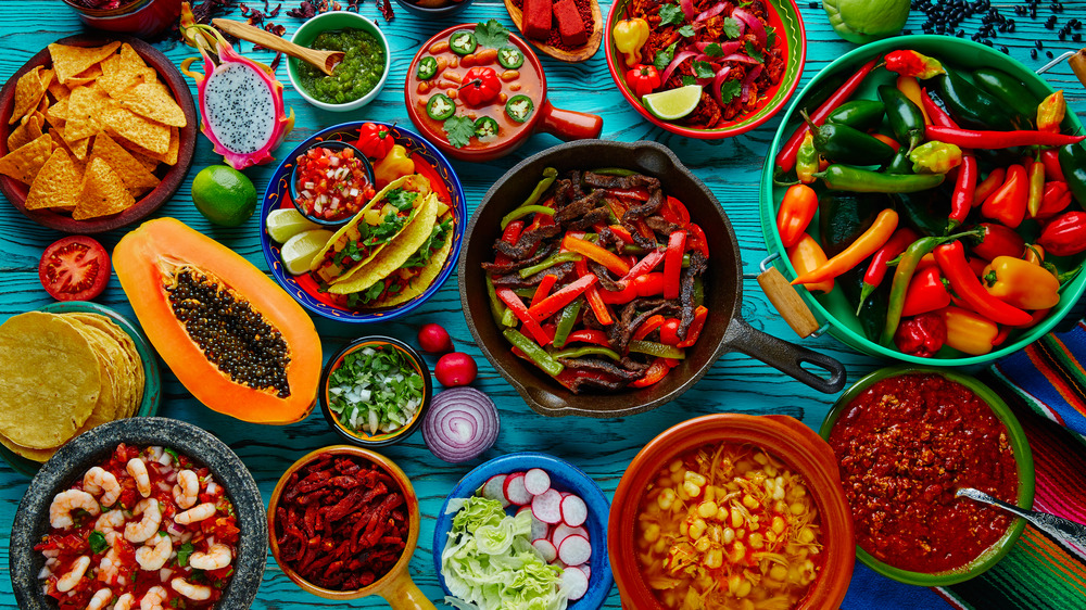 Colorful foods, attraction