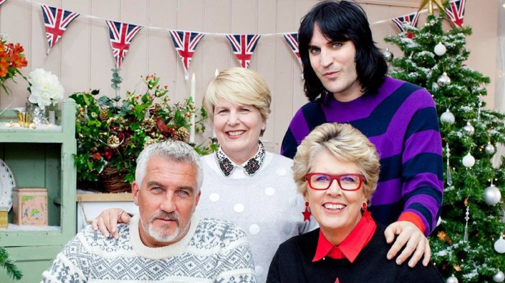 Paul Hollywood, Mary Berry, Prue Leith, and Noel Fielding on The Great British Baking Show