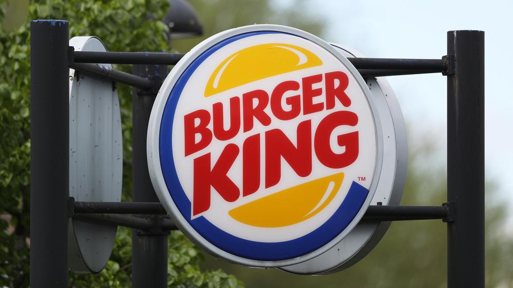 Outside of a Burger King
