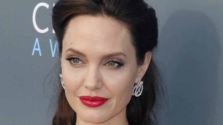Close-up Angelina Jolie