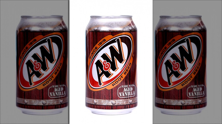 can of A&W Root Beer