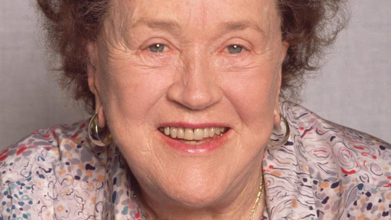 Julia Child smiling