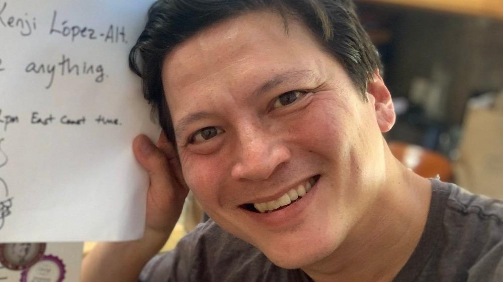 J. Kenji López-Alt smiling