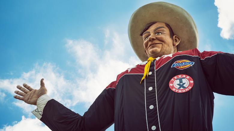 Texas State Fair mascot