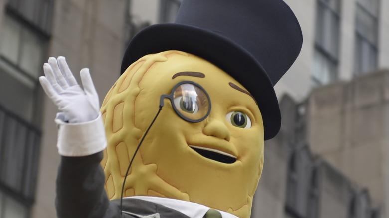 Mr. Peanut at Macy's parade
