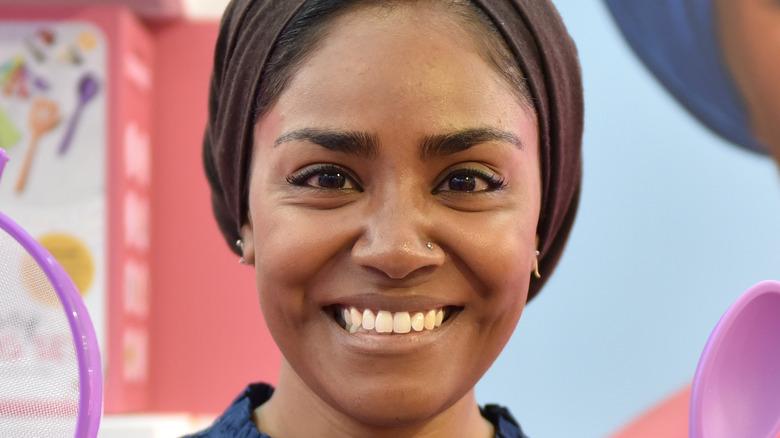 Nadiya Hussain smiling big