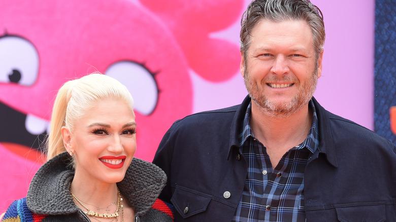 Gwen Stefani and Blake Shelton together