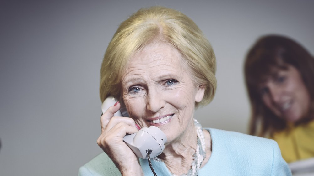 Mary Berry at a Child Bereavement UK event