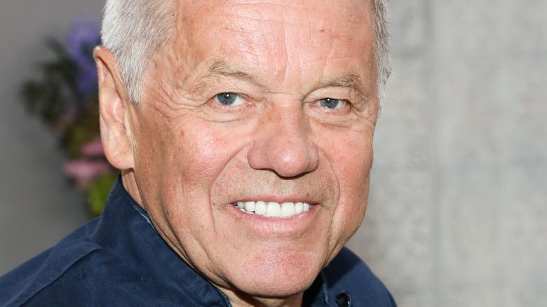 Up-close photo of Wolfgang Puck