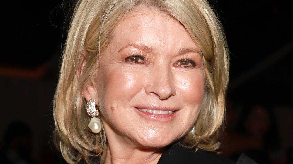 Martha Stewart on the red carpet