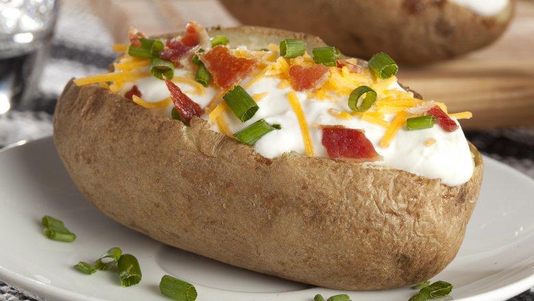 tasty baked potato