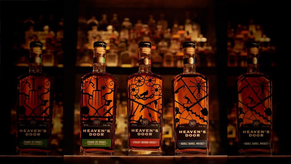 Three types of Bob Dylan's bourbon