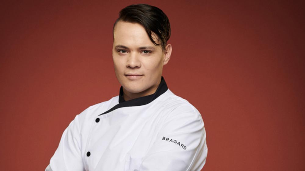 Cody Candelario on Hell's Kitchen season 19