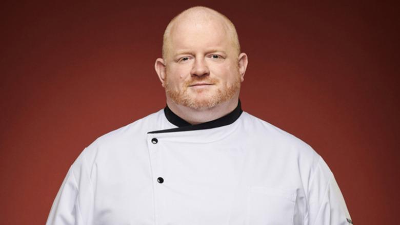 Declan Horgan on Hell's Kitchen season 19