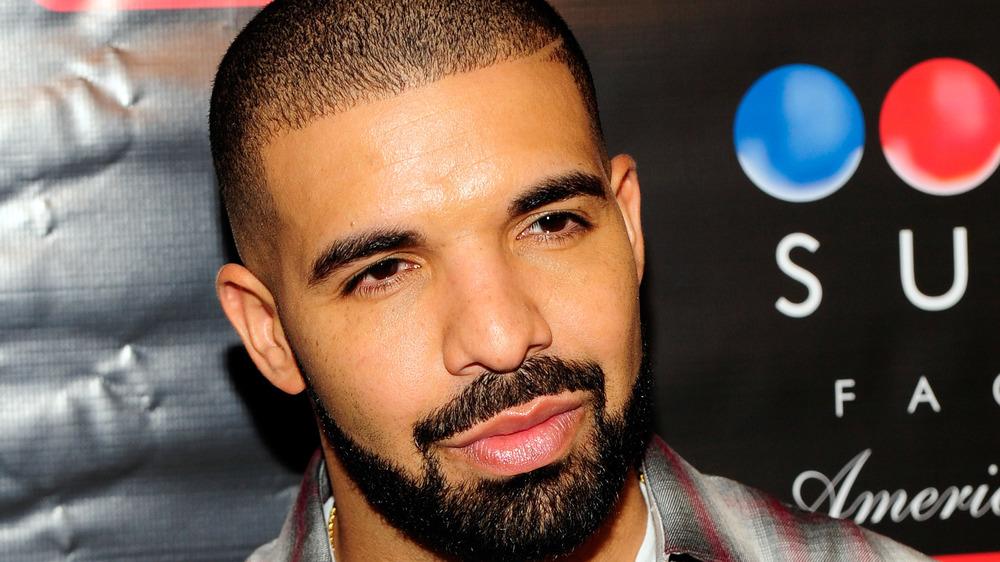 Drake looking suave