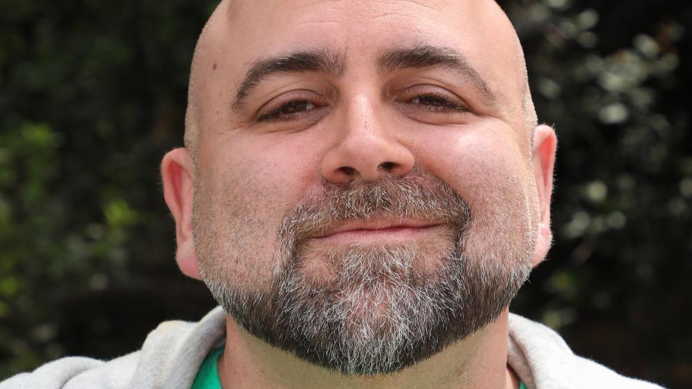 Duff Goldman smirking