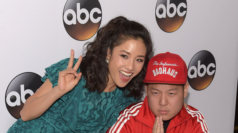 Chef Eddie Huang and Constance Wu