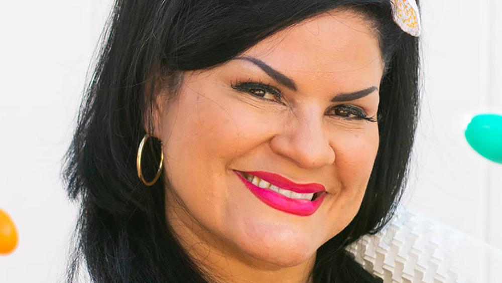 Food Network's Elaine Duran smiling