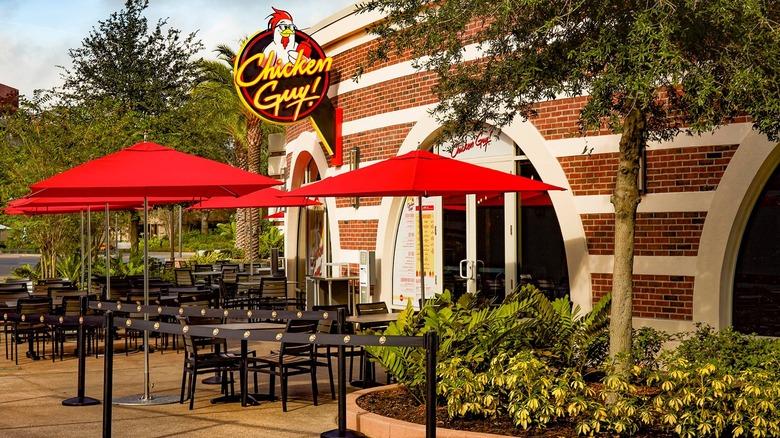 Guy Fieri Chicken Guy restaurant exterior