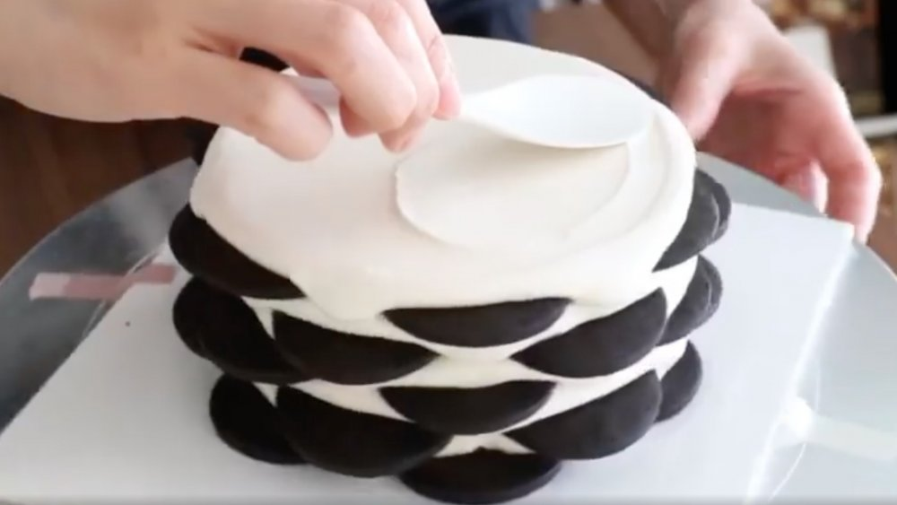 Korean icebox cake
