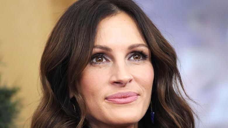 Close-up of Julia Roberts
