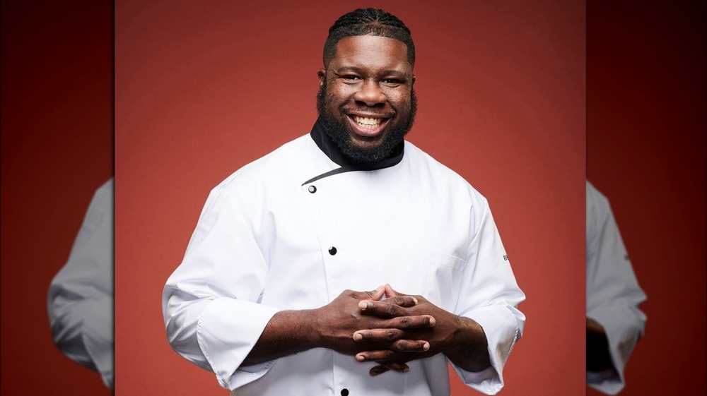 Chef Kenneth McDuffie from Hell's Kitchen