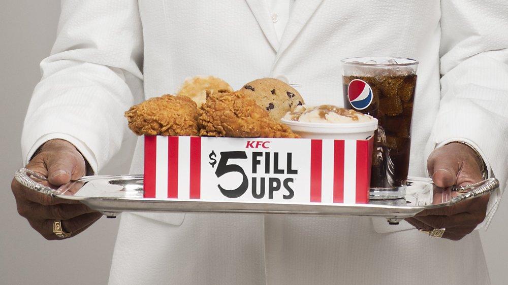 KFC $5 Fill Up options