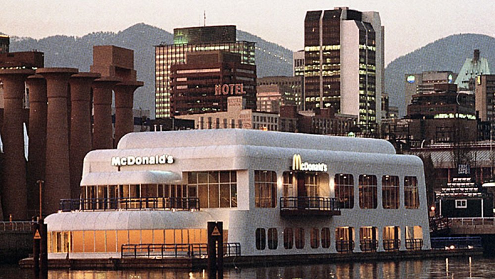 Photo of the McBarge