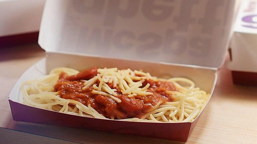 McDonald's McSpaghetti