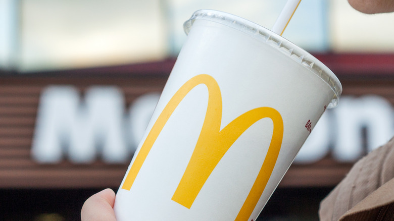 McDonald's sweet tea cup