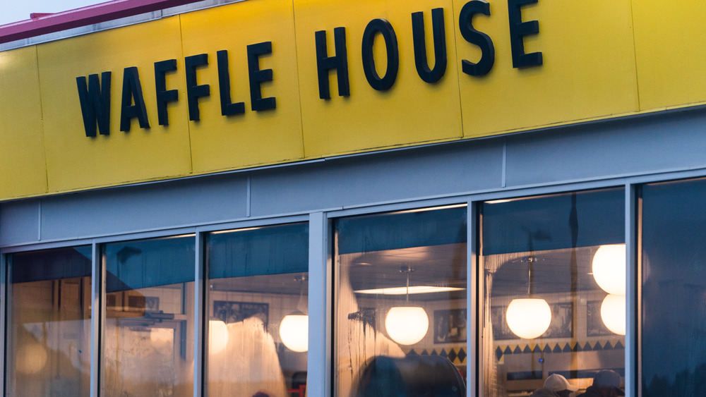 Looking into a Waffle House