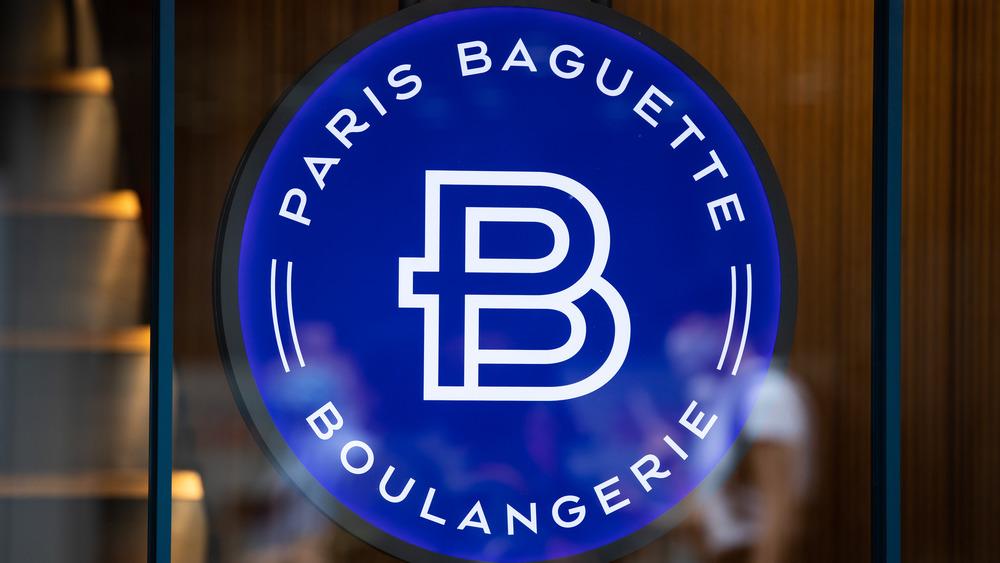 Paris Baguette sign