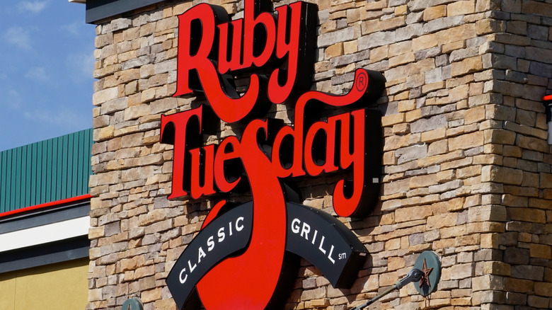 sign Ruby Tuesday