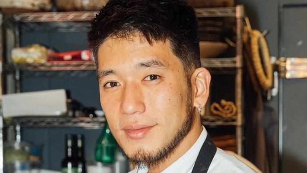 Chef Shota in the kitchen