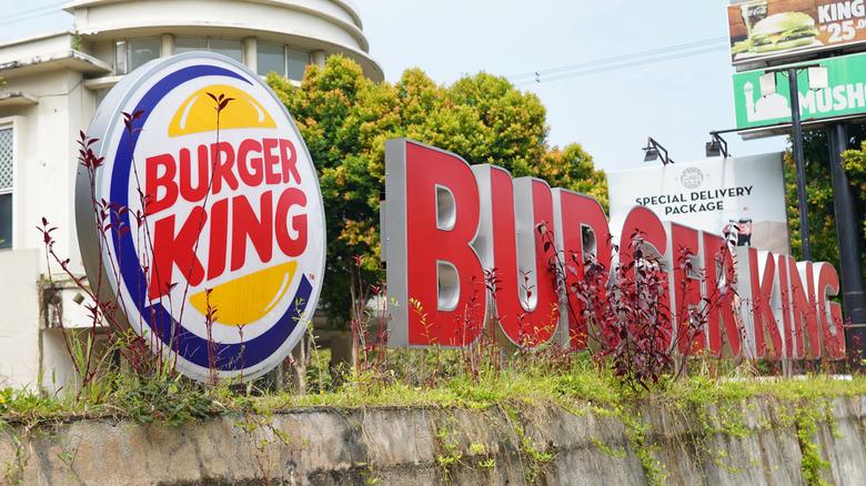 Burger King Indonesia signage
