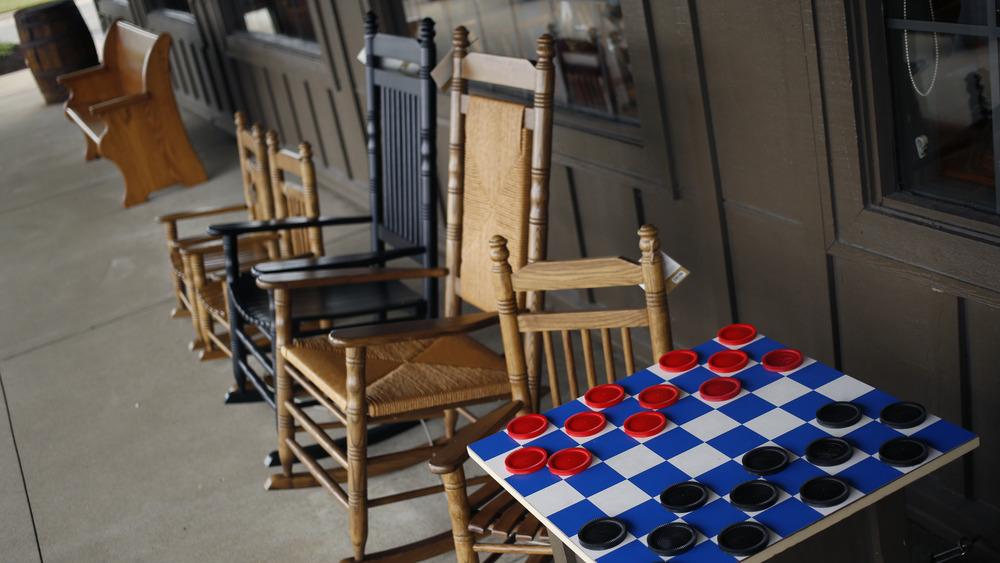Cracker Barrel rocking chairs