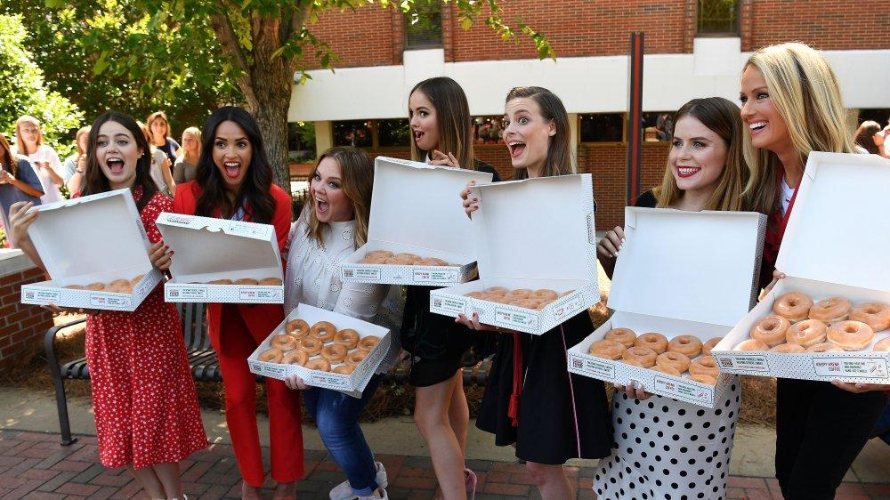 Krispy Kreme group donut share