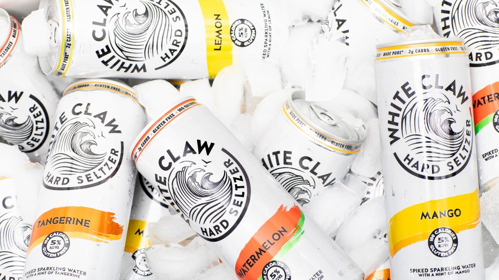 Cans of White Claw