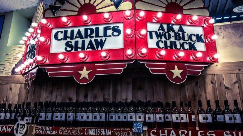 charles shaw sign