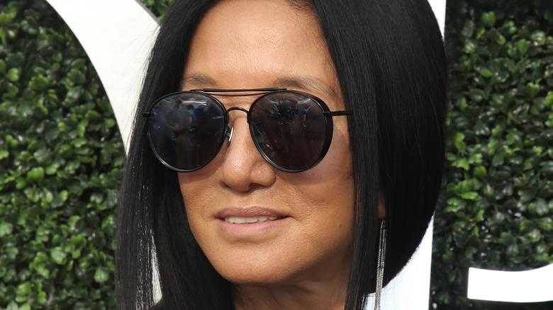 Vera Wang in sunglasses