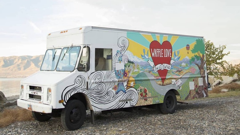 """Waffle Love on """"The Great Food Truck Race"""""""