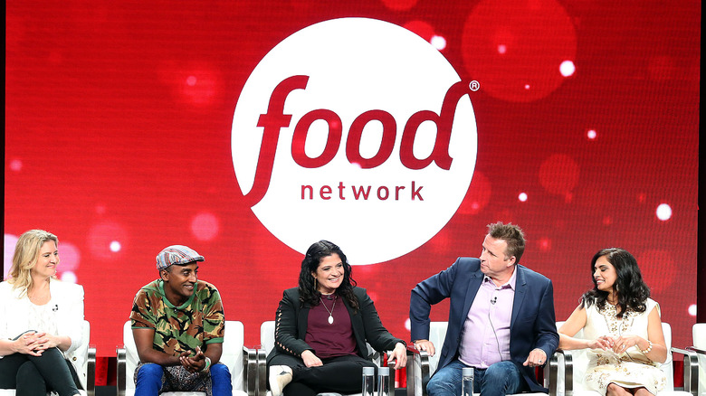 Food Network chefs on panel