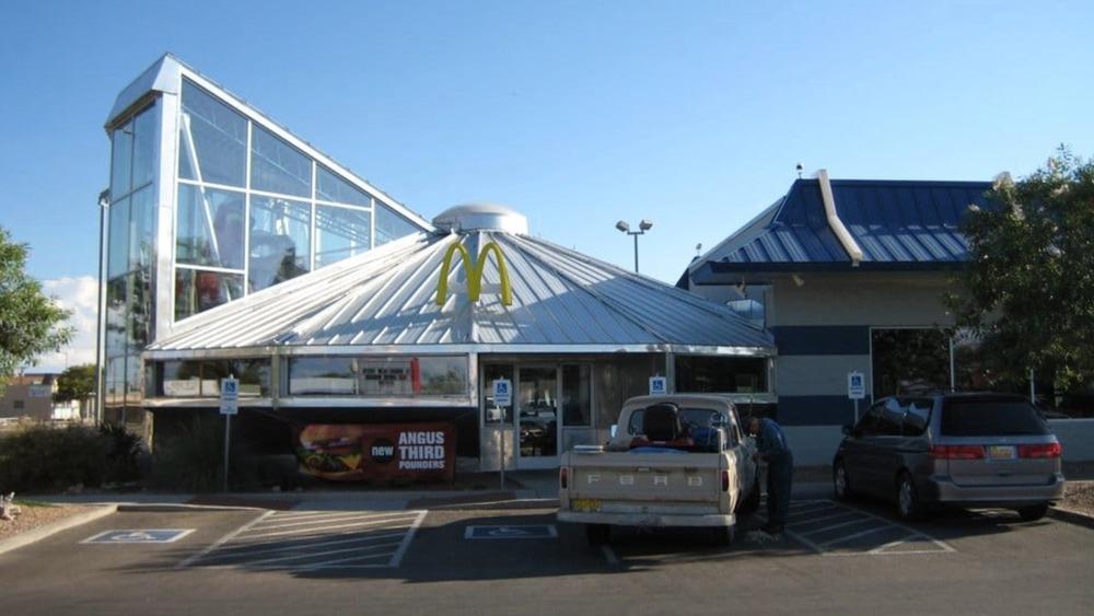 McDonalds UFO