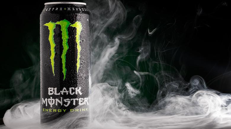 Monster Black Energy drink