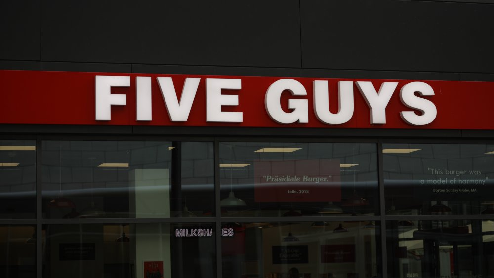A generic image of Five Guys