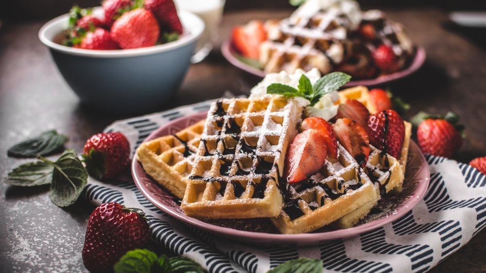 Fluffly waffles