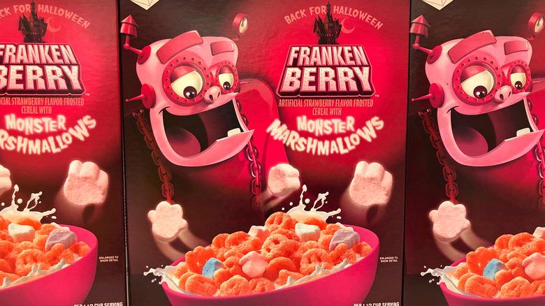 Franken Berry modern packaging