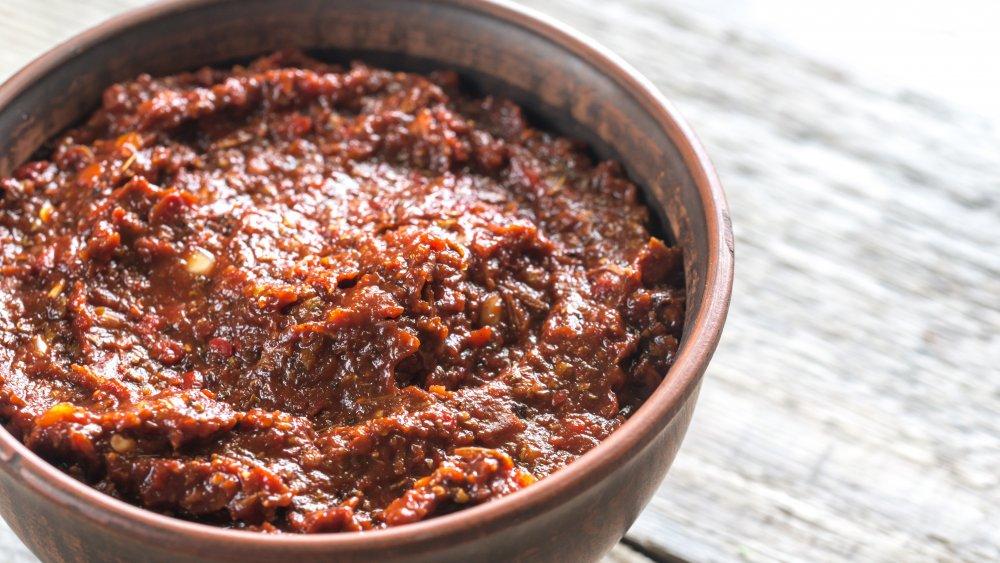 Red adobo seasoning paste