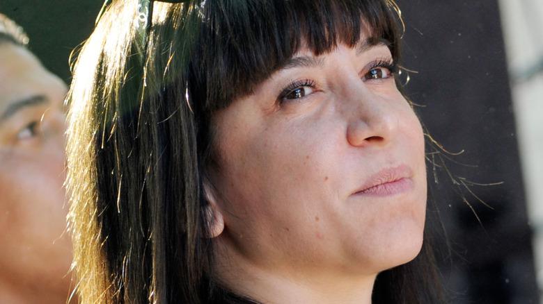 Ottavia Busia-Bourdain close-up